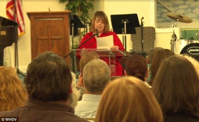 Herndon, who is a devout Christian, hosted a public forum to discuss the incident and called for the firing of Riverheads teacher Cheryl LaPorte