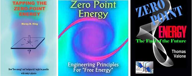 Den vitenskapelige  litteraturen knyttet til nullpunktsenergi er etterhvert blitt omfattende