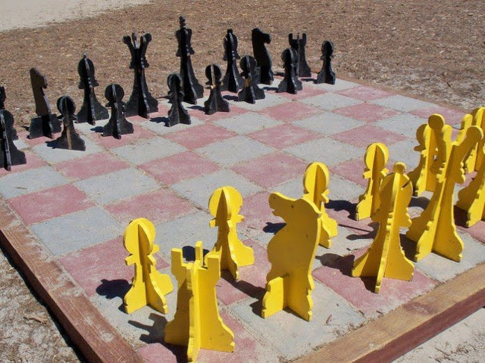 13 outdoor chess 25 ideas inspirations