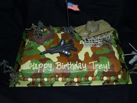 Cakes Military Cake Ideas and Designs