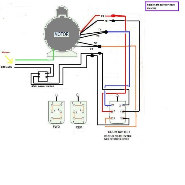 Dayton Drum Switch Wiring Diagram