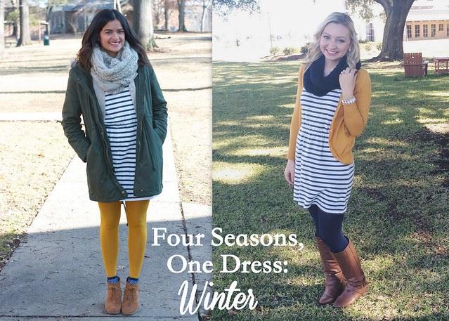 Goodwillista: four seasons, one dress: winter