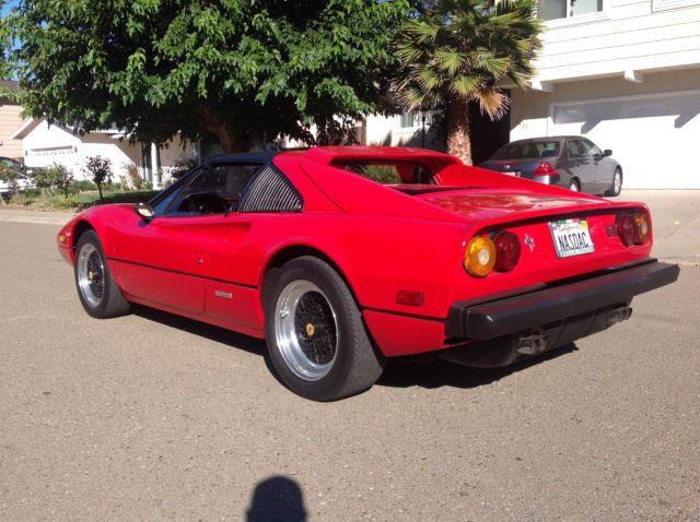 1980 Ferrari 308 gtsi , California car , 80 gts - Classic ...