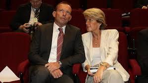 Abbott & Bishop in Parliament