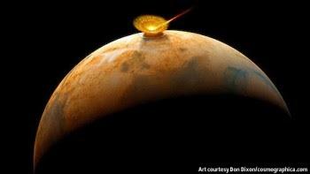 """Astrônomos russos alertam: """"Possível Impacto de cometa em Marte em 2014 poderá trazer perigo a terra"""""""