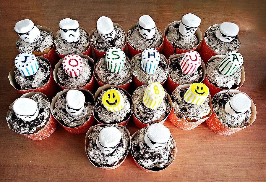 1.29, Storm Trooper Cupcakes