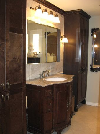 extreme manufactured home remodel bathroom
