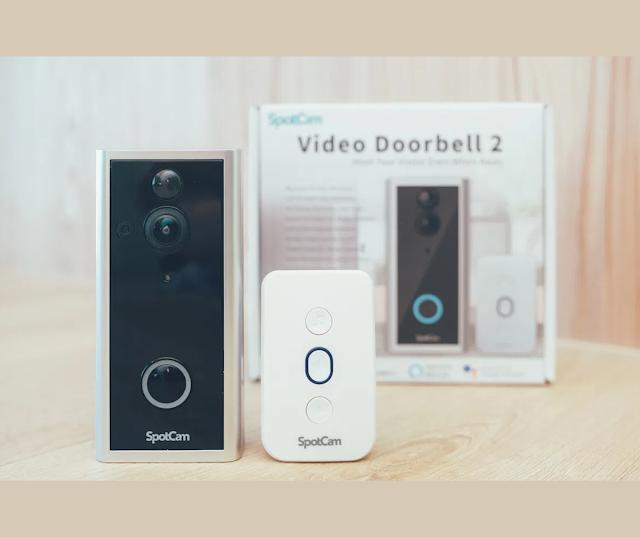 【SpotCam Ring 2 智能門鈴】攝影機結合門鈴套裝:台灣製造、新加坡伺服器 網店特價