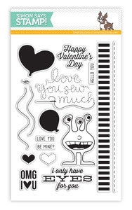 Simon Says Clear Stamps ONLY HAVE EYES FOR YOU sss101382