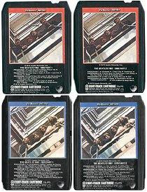 The Beatles' Red and Blue Albums, on eight-track