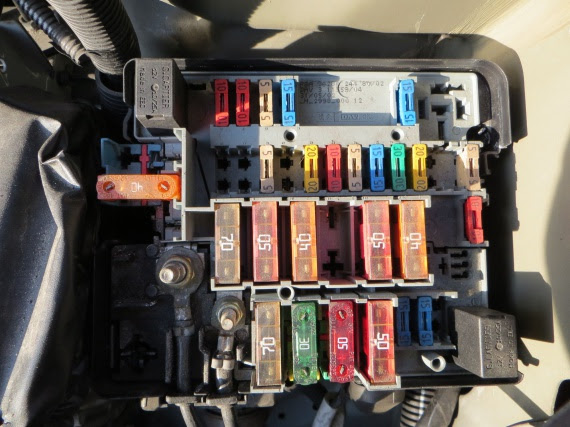 Citroen Xsara Hdi Fuse Box Diagram
