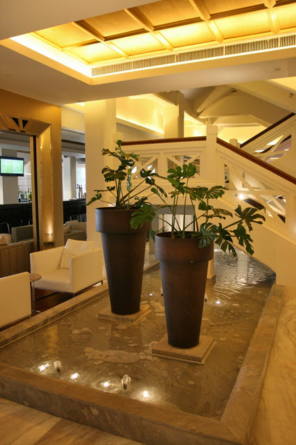 Foyer water feature