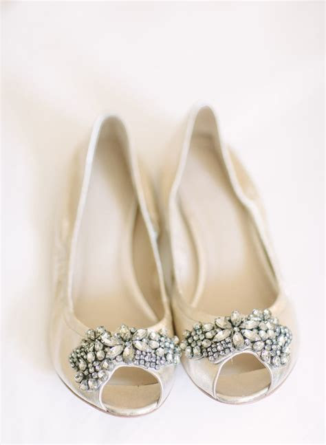 ideas  flat bridal shoes  pinterest