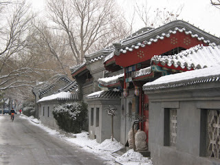 Beijing in the Snow