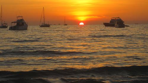 Sunset, Kantiang beach, Koh Lanta