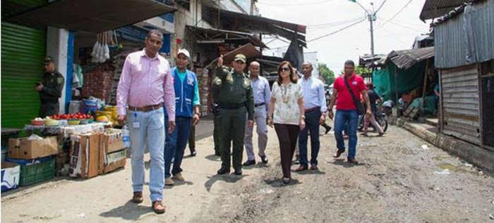 Promueven inclusión de habitantes de calle y erradicación de trabajo infantil en plazas de mercado