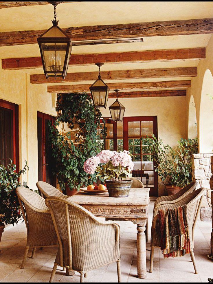 Veranda ... Bu gerçek bir veranda gibi görünüyor!!