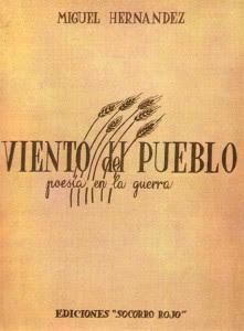 Portada del libro, Viento del Pueblo. / Foto: Centro Virtual Cervantes.