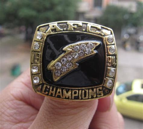 High Quality SAN DIEGO CHARGERS SUPER BOWL RING 1994