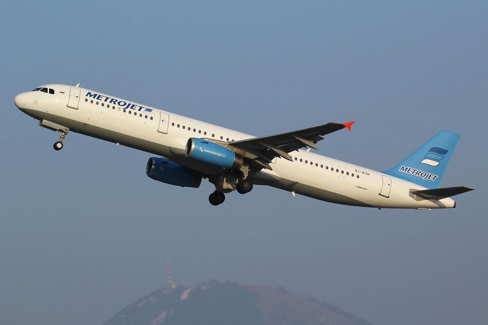 Internacionales | Avión comercial ruso que se estrelló en Egipto con 224 personas a bordo