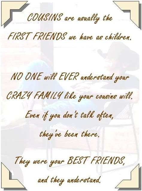 Luxury Quotes About Cousins Being Best Friends Mesgulsinyali
