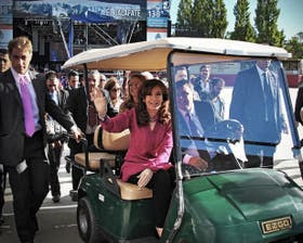 Cristina Kirchner negó haber explotado hoteles la semana pasada
