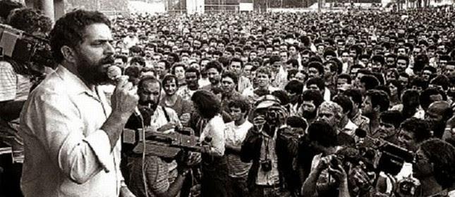 Lula, na época em que era presidente do Sindicato dos Metalúrgicos do ABC paulista, 13 de maio de 1979 (Foto: Divulgação)