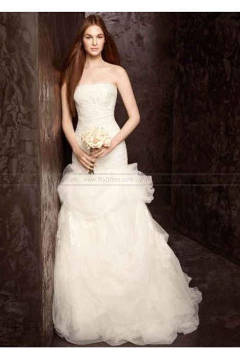 White by Vera Wang Floral Organza Wedding Dress VW351166