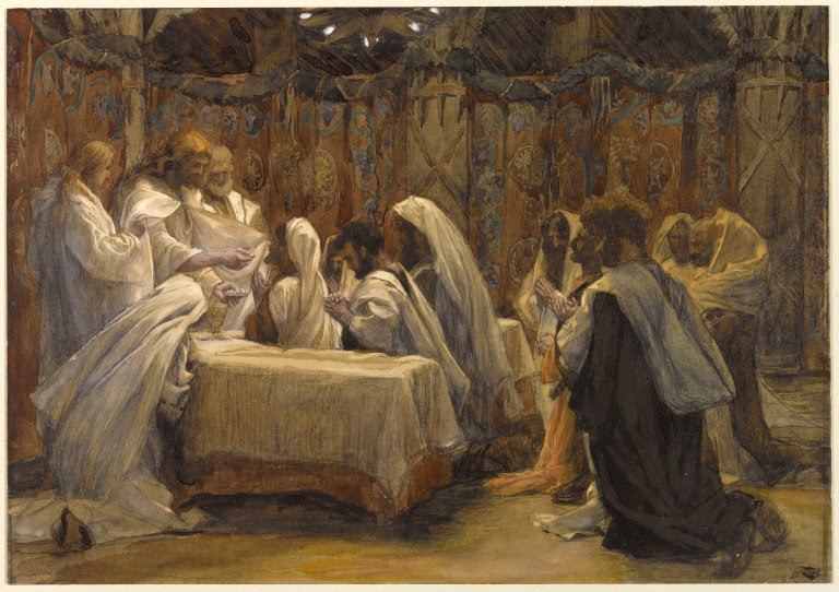 Brooklyn Museum - The Communion of the Apostles (La communion des apôtres) - James Tissot.jpg