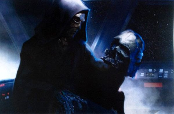 Concept artwork featuring a character nicknamed the Grave Robber in STAR WARS: EPISODE VII.