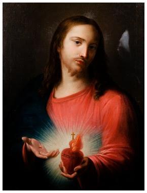 Giugno: si contempla il Sacro Cuore di Gesù