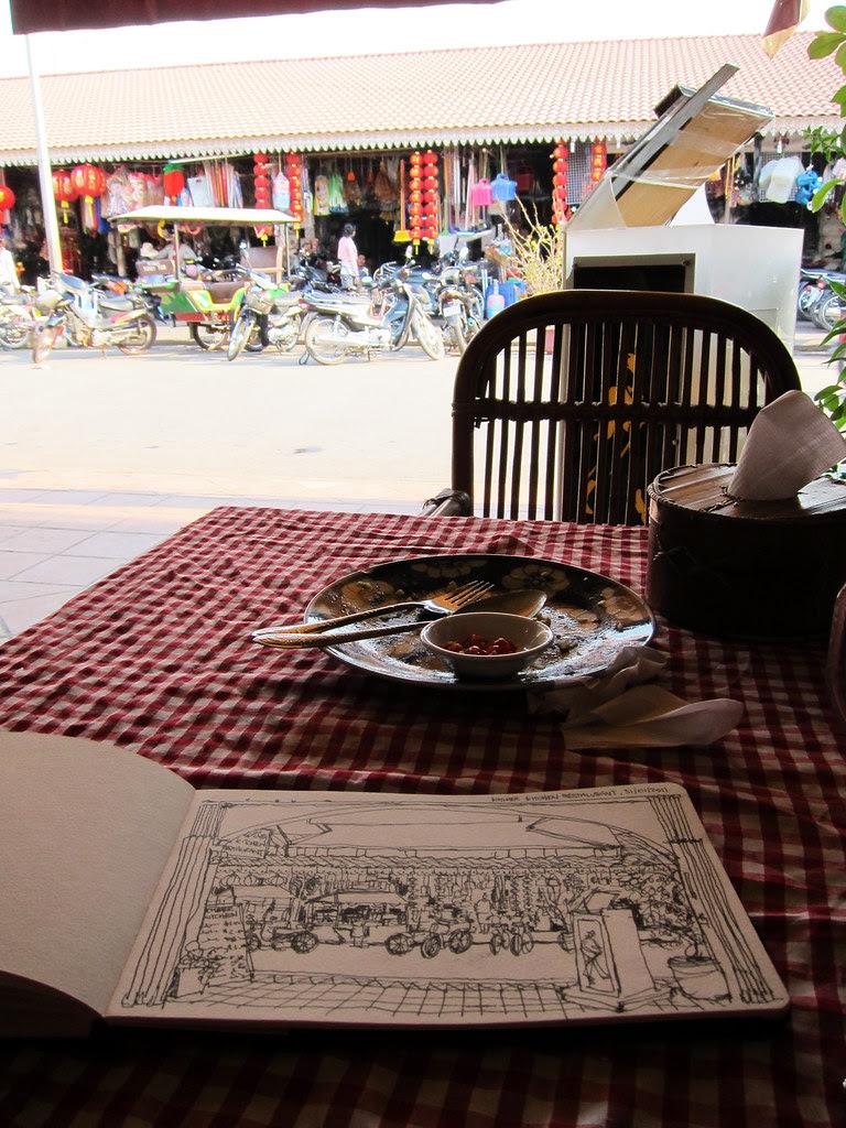 Lunch @ Khmer Kitchen, Siem Reap