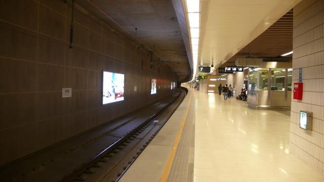 高鐵板橋站第一月台