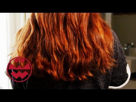 Lange Haare Abrasieren Frau Video