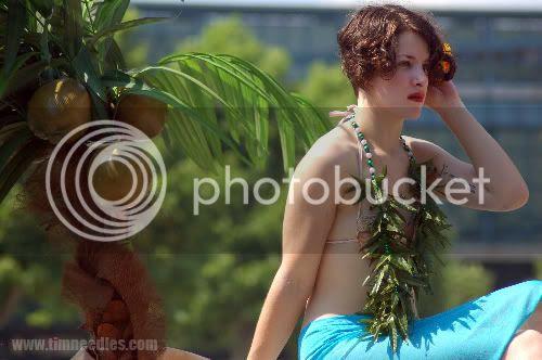 Coney Island Mermaid parade Flapper