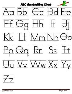 FREE* Cursive Alphabet Worksheets | extra assignments for the ...