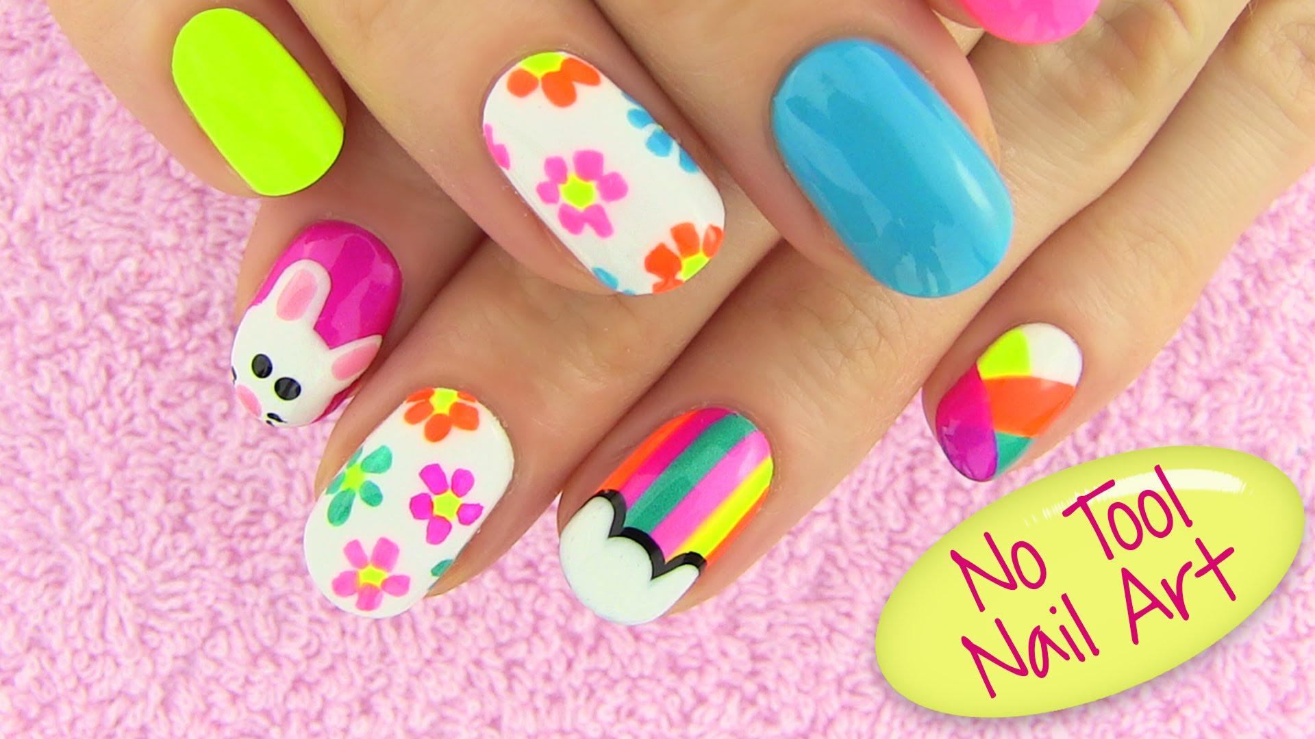 Simple beautiful Nail art designs - NAILKART.com