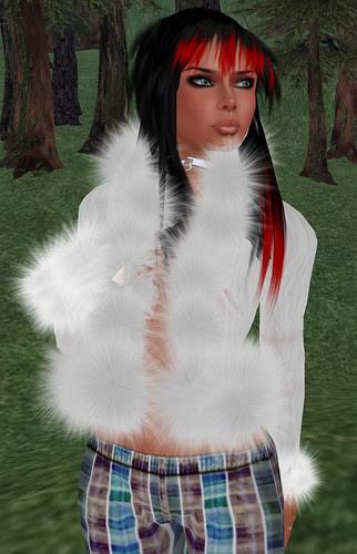 Nicky Ree white coat December 15 2010