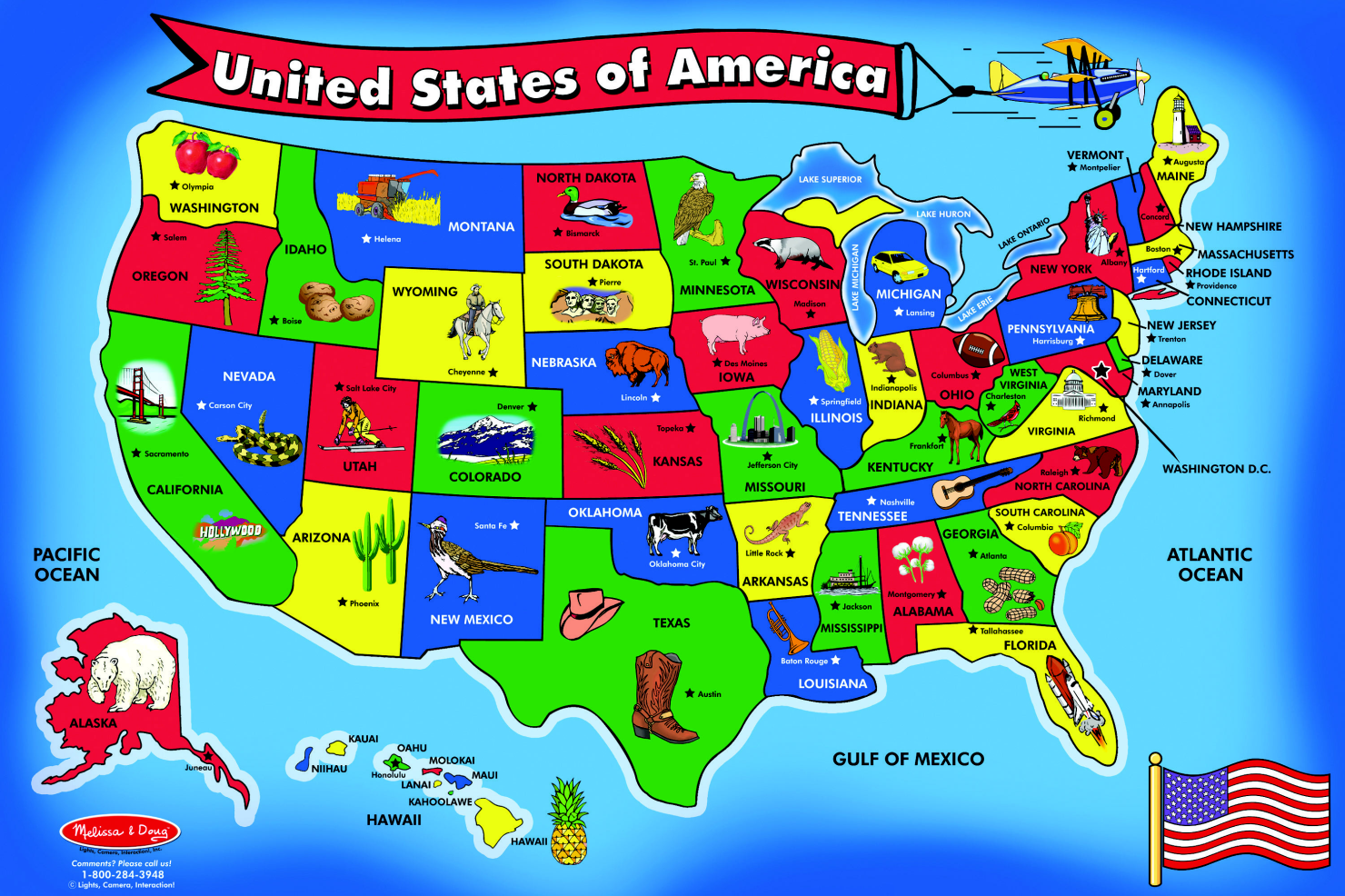 Us Map Learning Games
