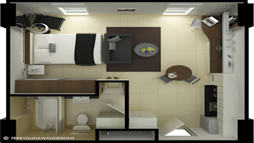 70 Foto Gambar Desain Apartemen Tipe Studio Paling Keren Unduh Gratis