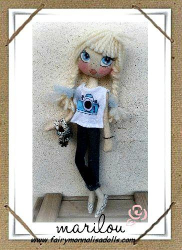 Fashion girl Marilou !