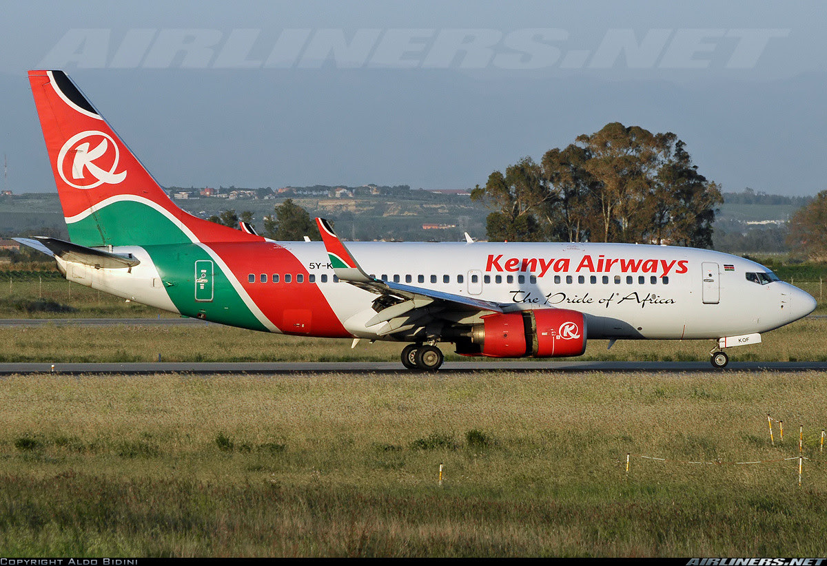 Kenya Airways 737