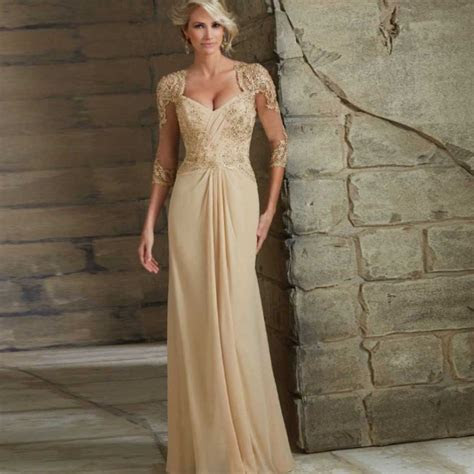 Winter mother of the bride dresses   LetsPlus.eu