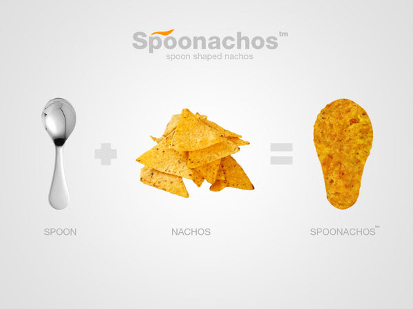 Spoonachos Spoon Shaped Nachos Chips Packaging design 30+ Crispy Potato Chips Packaging Design Ideas