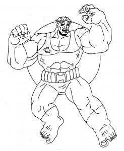 hulk003  printable coloring pages