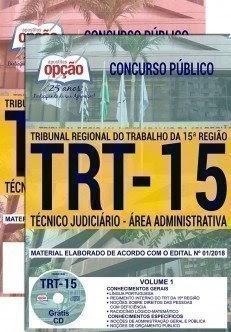 Apostila TRT da 15ª Região 2018 - TRT Campinas