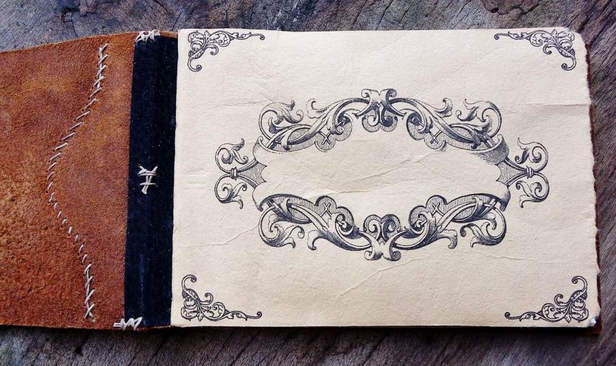 Rogue Journals Vintage Leather Sketchbook