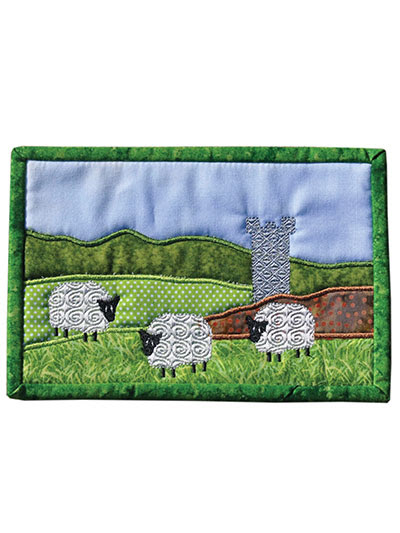 Irish Mug Rugs Pattern