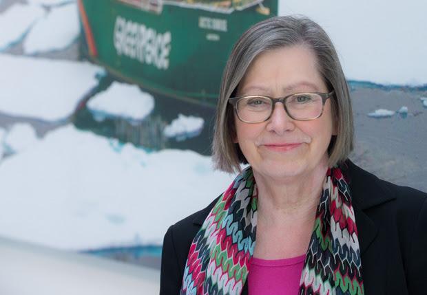 Brigitte Behrens; © Duffé / Greenpeace