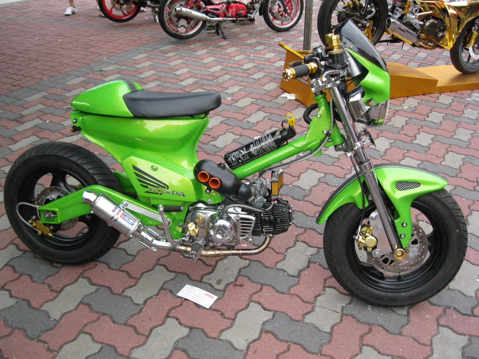 Foto2 Motor Modifikasi Modifikasi Motor Terbaru